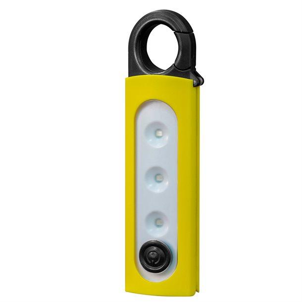 Karabinlampe med flere funktioner